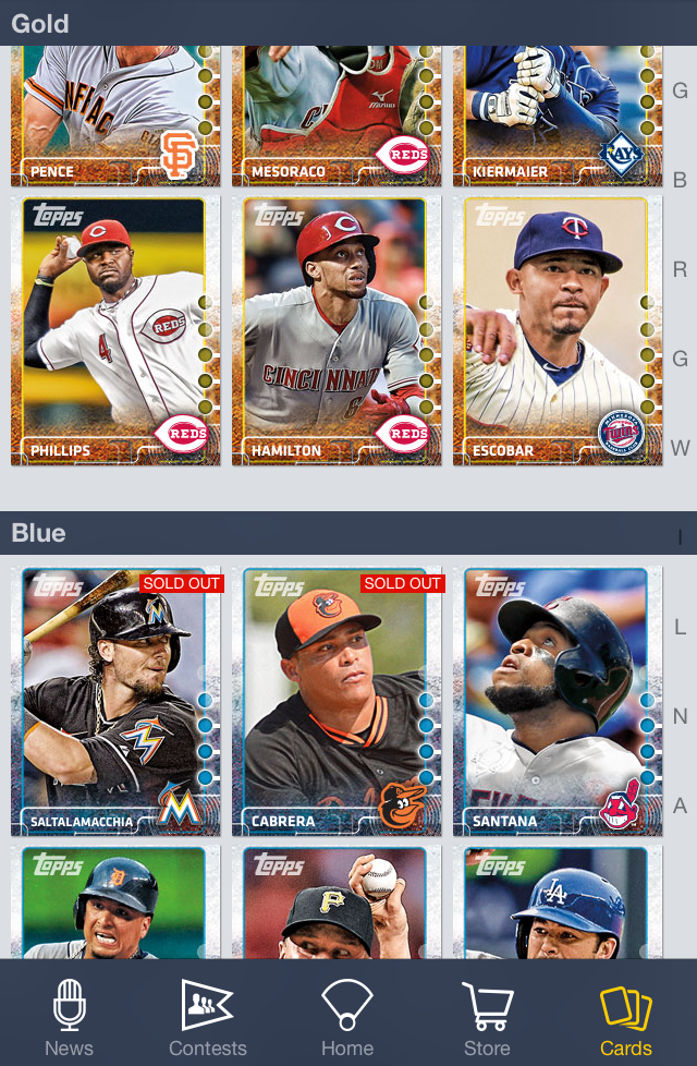 Why Collect Digital Baseball Cards Dugout Thoughts